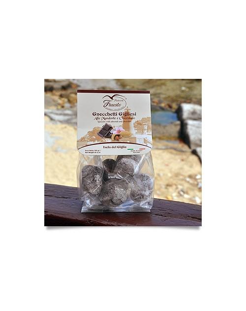 Gnocchetti Gigliesi alle Mandorle e Cioccolato 200 G.