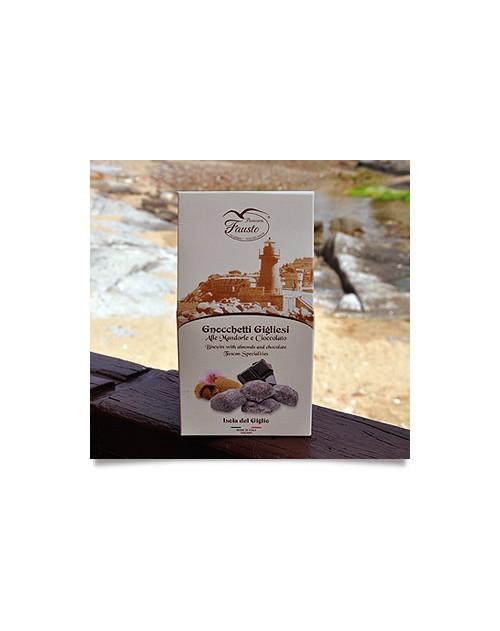 Gnocchetti Gigliesi alle Mandorle e Cioccolato 160 G. Confezione Regalo