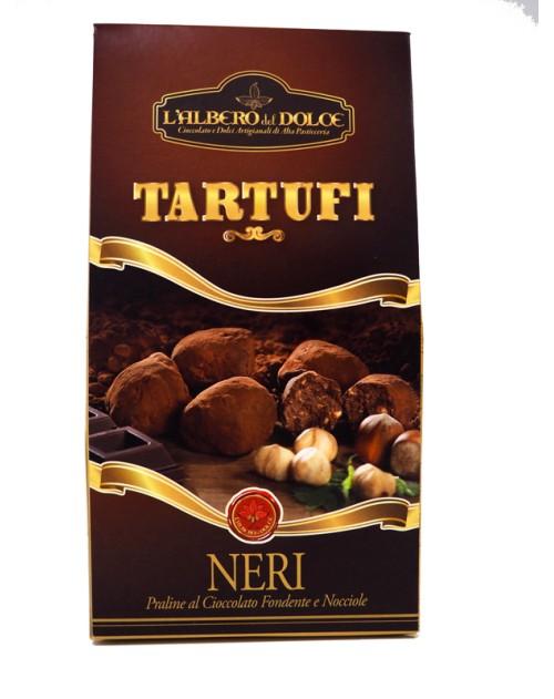 Tartufo Nero Con Nocciole E Cioccolato