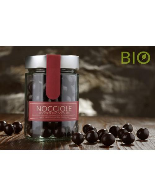 Nocciole Ricoperte di Cioccolato Bio