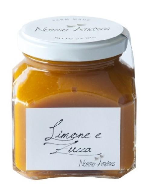 Composta Dolce Al Limone E Zucca 210 G.