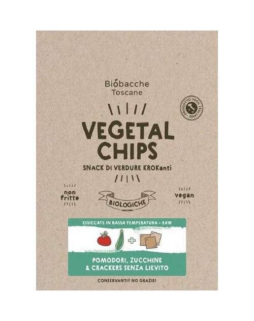 Vegetal Chips Pomodoro, Zucchine + Crackers