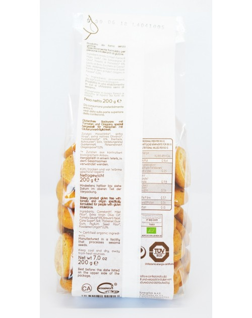 Anelli Piazzaiola BIO Senza Glutine