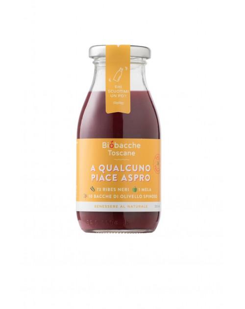 A Qualcuno Piace Aspro (Ribes Nero e Olivello Spinoso) 750 ml.