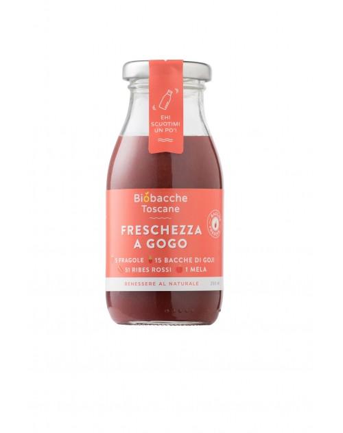 Freschezza a Go Go(Ribes Rosso, Fragola, Goji) 250 ml.