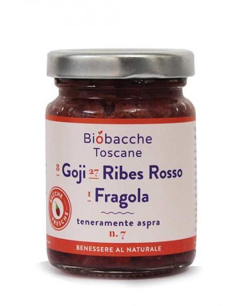 Goji, Ribes Rosso e Fragola, Frutta al cucchiaio.