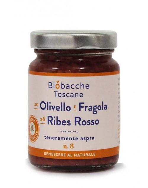 Olivello Spinoso, Ribes Rosso e Fragola, Frutta al cucchiaio.